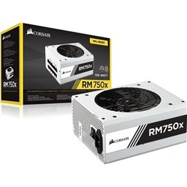 ALIMENTATORE CORSAIR RMX WHITE SERIES RM750X MODULARE 80 PLUS GOLD