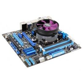 Cooler Master X Dream i117 Processore Refrigeratore 9,5 cm Alluminio, Viola