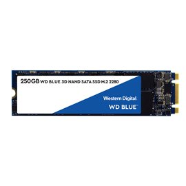 250 GB WESTERN DIGITAL WD BLU M.2