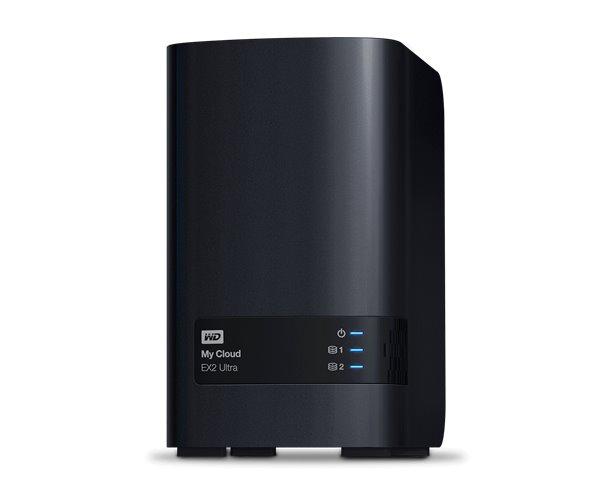4 TERA BYTE (2+2) WESTERN DIGITAL MYCLOUD EX2 ULTRA LAN GIGABIT + 2 PORTE USB, RAID 0/1 (INCLUSO SIAE)