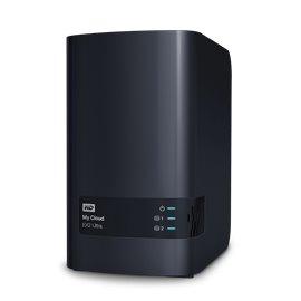 8 TERA BYTE (4+4) WESTERN DIGITAL MYCLOUD EX2 ULTRA LAN GIGABIT + 2 PORTE USB, RAID 0/1 (INCLUSO SIAE)