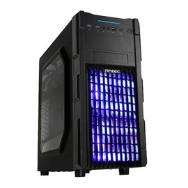 CASE ANTEC GAMING GX-200 WINDOW BLU