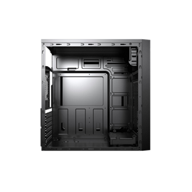 CASE MIDI ATX 500W COLORE NERO,  USB2, USB3, SLOT DVD