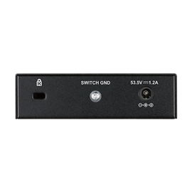 SWITCH D-LINK 5 PORTE GIGA 10/100/1000 POE DGS-1005P