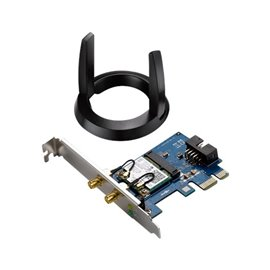 ADATTATORE PCI-EXPRESS WIRELESS+BT 867/333 MB DUAL BAND 2.4/5 GHZ 802.11A/B/G/N/AC ASUS PCE-AC55BT