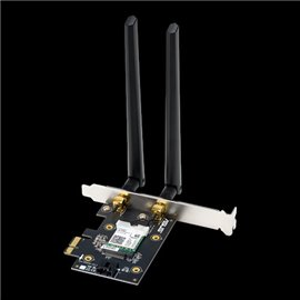 ADATTATORE PCI-EXPRESS WIRELESS  ASUS PCE-AX3000