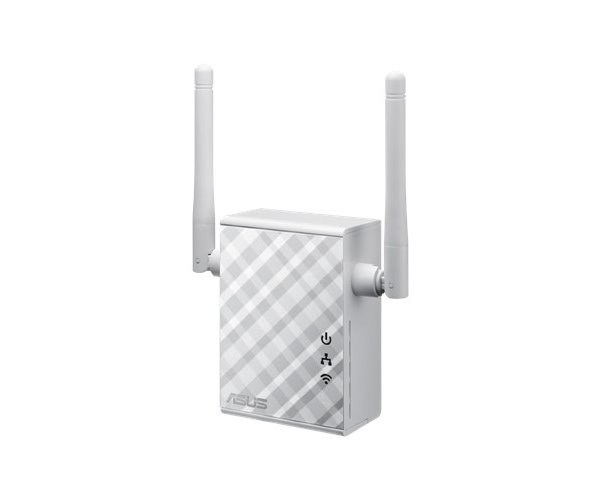 ACCESS-POINT/WIRELESS EXTENDER ASUS N300 802.11N RP-N12 300 MB, PORTA RETE 100MB, 2.4 GHZ GHZ