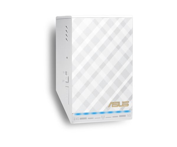 ACCESS-POINT/WIRELESS EXTENDER ASUS AC750 802.11AC RP-AC52 300-433 MB, PORTA RETE 100MB, 2.4 GHZ/5 GHZ