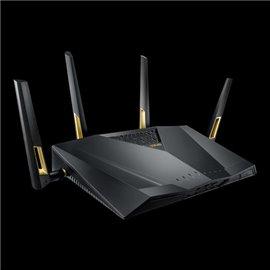 ROUTER ASUS RT-AX88U AX6000 WIFI6 COMP.AIMESH GIGABIT 8P.