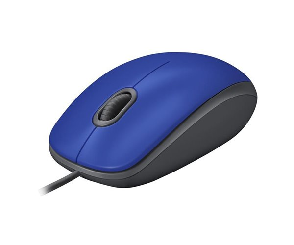 MOUSE LOGITECH OPTICAL M110 SILENT BLU