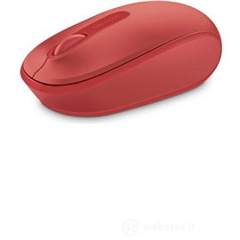 MOUSE MICROSOFT OPTICAL  1850 WIRELESS PER NOTEBOOK  RED