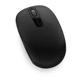 MOUSE MICROSOFT OPTICAL  1850 WIRELESS PER NOTEBOOK  BLACK