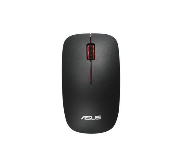MOUSE ASUS OPTICAL  CORDLESS  WT300 BLACK-RED
