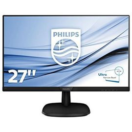 "MONITOR PHILIPS LCD 27"" LED IPS  WIDE 273V7QDAB   16:9  LCD, RIS. 1920X1080, CONTRASTO 10MIL.:1,  MS, 0,31 D.P. LUMINOSITA' 250C"