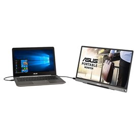 """ZENSCREEN ASUS MB16AMT  15,6"""" 1920x1080 TOUCH, 5 ms, 16:9, 178°, IPS, 250CD, CONTRASTO 700:1, MICRO-HDMI, USB, MULTIMEDIALE"""