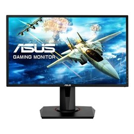 "MONITOR ASUS LED 24"" VG248QG 1920X1080 165 HZ, DOT PITCH 0,28, CONTRASTO 50.000.000:1, 1 MS, LUMINOSITA' 350CD, VGA, DVI, HDMI,"