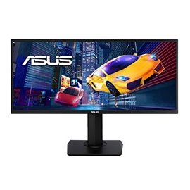 "MONITOR ASUS LED 34"" VP348QGL 3440X1440 21:9 75 HZ, DOT PITCH 0,24, CONTRASTO 100MIL:1, 4 MS, LUMINOSITA' 300CD,  HDMI, DP, MULT"