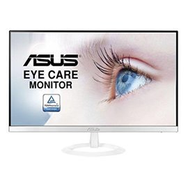 "MONITOR LED ASUS 23"" VZ239HE-W  WIDE IPS,  RIS. 1920X1080, FULL HD, 0,27 D.P., CONTRASTO 80.000.000:1, 5 MS, LUMINOSITA' 250CD,"