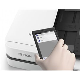 EPSON WORKFORCE DS-1660W A4PIANO  CON ADF, 25PPM,  1200 DPI, 48 BIT COLORE, I/F  USB2, ALIMENTATORE AUTOMATICO DOCUMENTI 50 FG,