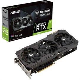 SCHEDA VIDEO ASUS NVIDIA  GeForce RTX TUF GAMING, 1800MHz, 8GB GDDR6X, 256 bit, PCI Express 4.0, 2 x HDMI (2.1), 3 x DP (1.4a)