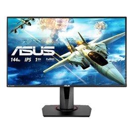 "MONITOR ASUS LED 27"" VG279Q  1920X1080 144 HZ, IPS, CONTRASTO 100MIL:1, 1 MS, LUMINOSITA' 400CD, DP, HDMI, FREESYNC"